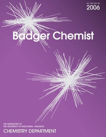 Badger Chemist - Department of Chemistry - University of Wisconsin ...