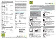 Merkblatt Abfallentsorgung und Separatsammlungen [PDF]