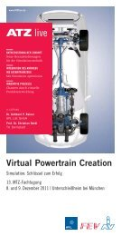 Virtual Powertrain Creation - ATZlive
