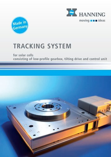 Brochure tracking system - Hanning Elektro-Werke GmbH & Co. KG