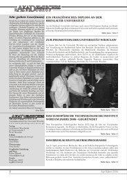 Akademisches Kaleidoskop Jg.4 Nr 2 (14) April-Juni 2006