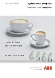 Halbe Grösse Starke Wirkung - ABB Schweiz AG, Industrie