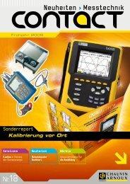 Heft 18/2009 - Chauvin Arnoux