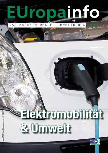 Elektromobilität & Umwelt - EU-Umweltbüro