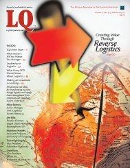 Reverse Logistics - Logistics Quarterly