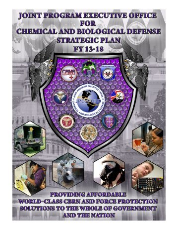 Overarching Strategy - Joint Program Executive Office for Chemical ...