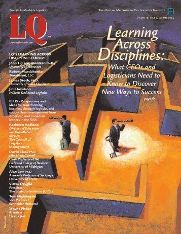 PDF file - Logistics Quarterly