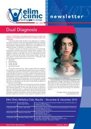Download our January 2011 Newsletter - Elim Clinic