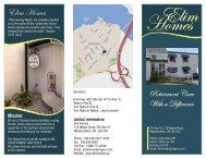 Elim Homes Brochure