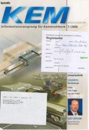 KEM Nr. 7 (pdf / 977 KB) - Eichenberger Gewinde AG