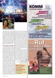 Neue Wege gehen-Mission und die Bestimmung Deutschlands
