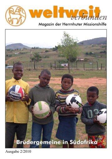 Brüdergemeine in Südafrika - Herrnhuter Missionshilfe