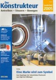 Der Konstrukteur - Sonderheft 2005 (pdf / 1259 KB)