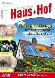 Erneuerbare Energie - Haus+Hof Stuttgart