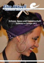 Rundbrief Elim Aktuell Juni 2011 als PDF ansehen - Diakonische ...