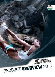 LD Systems katalógus 2011/HUN