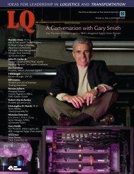 A Conversation with Gary Smith - Logistics Quarterly