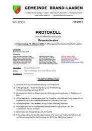 Protokoll Nr. 4/2006 (102 KB) - .PDF - Brand-Laaben