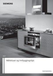 s Målskisser og innbyggingstips - Siemens