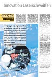 Innovation Laserschweißen - Plastics, Polymers, and Resins - DuPont