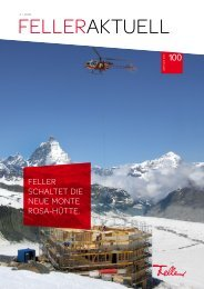 FELLERAKTUELL - Feller Clixx - Feller AG