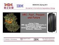 HPC: Past, Present, and Future - Supercomputing Institute ...