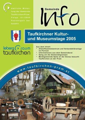 Gemeinde Info Folge 1/2005 (0 bytes) - Taufkirchen an der Pram