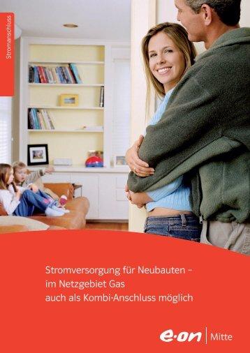 Stromversorgung für Neubauten - Stadtwerke Gelnhausen GmbH