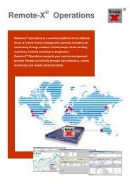 Remote-X Operations - Gfeller Informatik AG