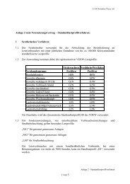 Anlage 2 zum Netznutzungsvertrag Standardlastprofilverfahren