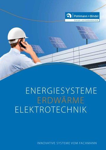 ERDWÄRME ENERGIESYSTEME ELEKTROTEchNIK