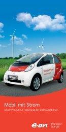 Flyer - Mobil mit Strom (PDF, 4160 KB) - E.ON Thüringer Energie AG
