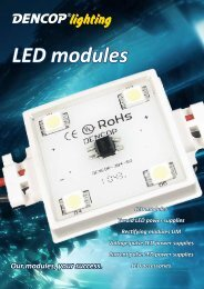 LED modules - Dencop