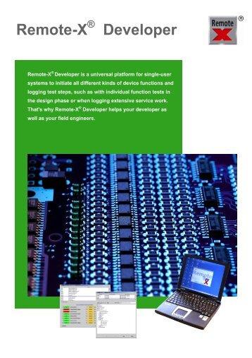 Remote-X Developer - Gfeller Informatik AG
