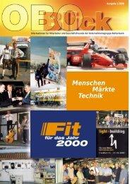 Menschen Märkte Technik - OBO Bettermann