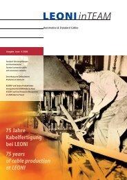 Automotive & Standard Cables - LEONI Business Unit Automotive ...
