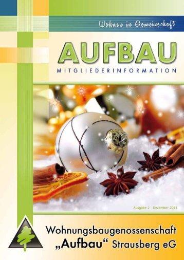 Betriebskostenabrechnung 2011 - Wohnungsbaugenossenschaft ...