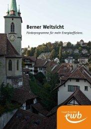 Rechnungsbeilage Berner Weitsicht (PDF) - Energie Wasser Bern