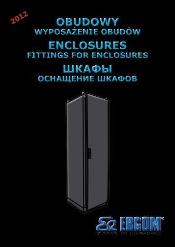 obudowy wyposażenie obudów enclosures fittings for ... - elmako.pl