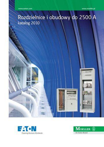Rozdzielnice i obudowy do 2500 A - katalog 2010 - Moeller
