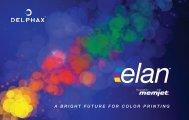 elan™ Product Brochure - Delphax