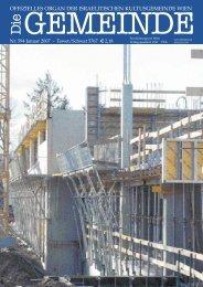 'Die Gemeinde' Januar 2007 als pdf herunterladen - Israelitische ...