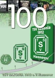 Festschrift 100 Jahre TSV Saxonia