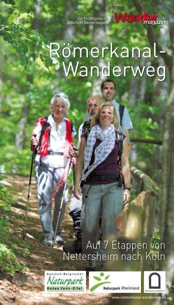 Pocketguide Römerkanal-Wanderweg Nettersheim - Trier