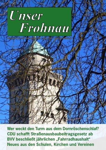 """""""Unser Frohnau"""" Juni 2012"""