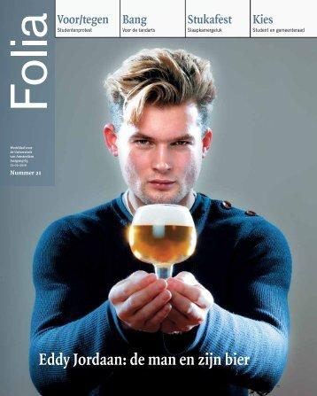 Eddy Jordaan: de man en zijn bier - Folia Web