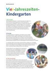 Vier-Jahreszeiten- Kindergarten - swb-Bildungsinitiative