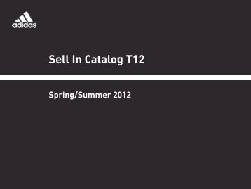 Sell In Catalog T12