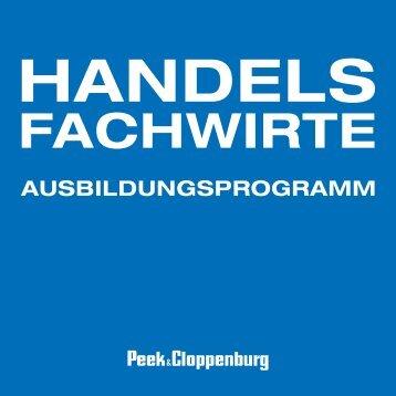Handelsfachwirte - Karriere - Peek & Cloppenburg