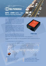 FM4101 Datasheet PDF - GSM Modems, GSM Modules, GSM ...